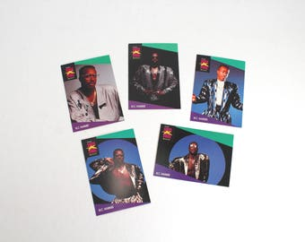 Vintage M.C. Hammer collector cards - set, U Can't Touch This, hammertime, hip hop, R&B, rap, 90s music, 1990s musical artists, 80s, 1980s