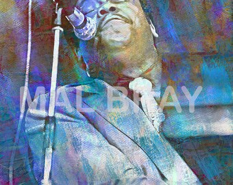Fats Domino, print, poster