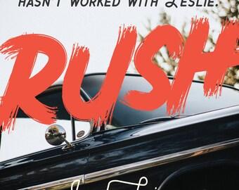 RUSH Logo Design ADD ON
