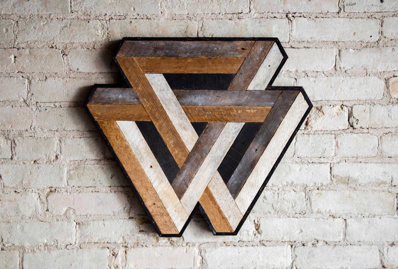Reclaimed Wood Wall Art Wood Decor Reclaimed Wood