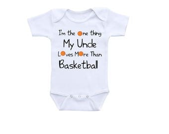 Basketball baby etsy basketball baby outfit or gerber onesie cute baby onesies basketball onesieuncle onesie negle Image collections
