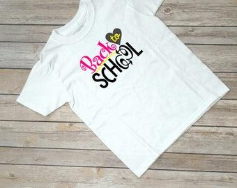 Back to School Girl Shirt