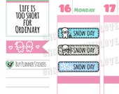 Munchkins - Back to School! Snow Day Variety School Planner Stickers (M306)
