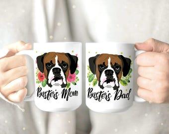 Boxer dog | Etsy