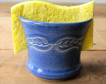 Sponge Caddy With Suction Base For Kitchen Sink Sponge Not