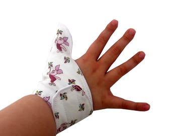 Thumb glove, Cool fit thumb guard,stop thumb sucking,help children remember not to suck thumb, washable thumb glove
