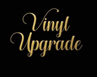 Vinyl Upgrade - Add some Sparkle