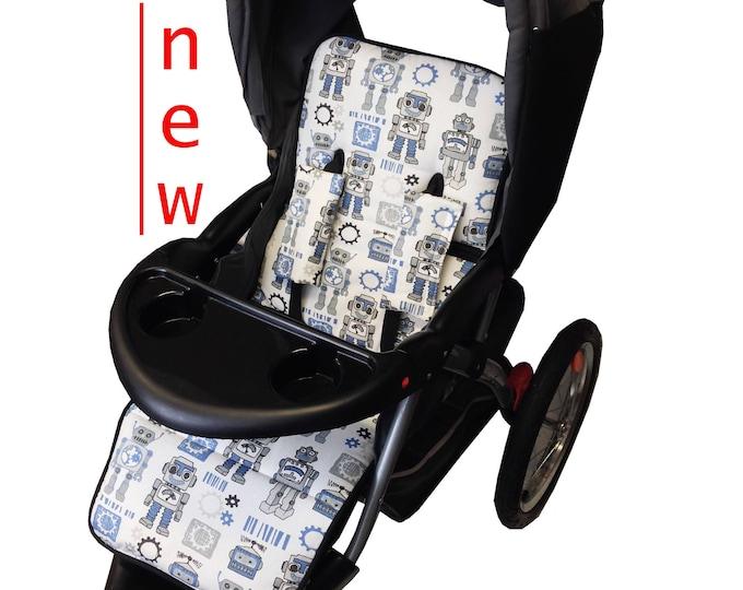 Featured listing image: Mr. Roboto Stroller Liner