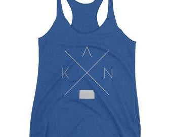 Kansas Home Racerback Tank Top – Kansas Shirt, KAN Tank