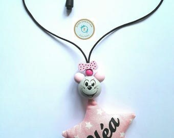 Fashion necklace personalized with name