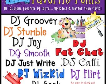 DJ's Favorite Fonts Collection Download