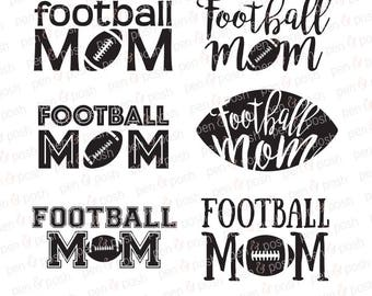 Football Mom SVG - Football SVG - Football Cut File - Football Mom DXF - Football Dxf - Football Mom - Sport Mom Svg Bundle