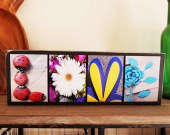 Love Sign Love Decor Gift For Teen Girls Gift For Daughter Best Friend Gift Birthday Gift For Her Flower Girl Gift Bridesmaid Gift Wedding