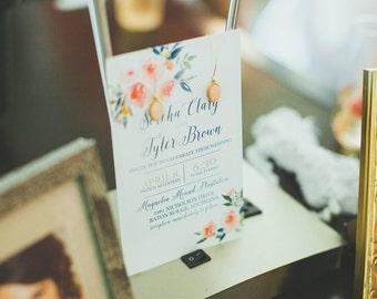 Spring Floral Wedding Suite