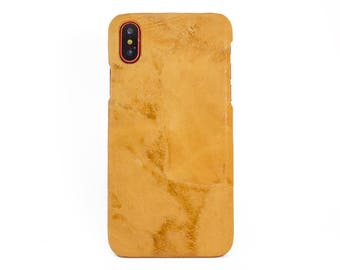 iPhone X / 7 / 8 Leather Phone Case