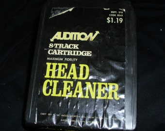 Audition 8-track Cartridge Head Cleaner