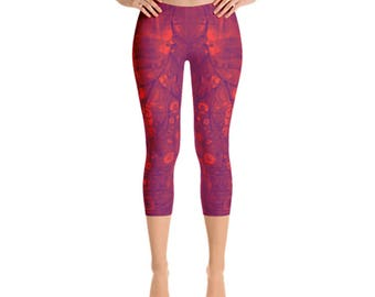 Orange You Sweet Capri Leggings