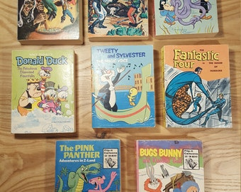 Vintage - Assorted Big Little Books - Pocket Comics