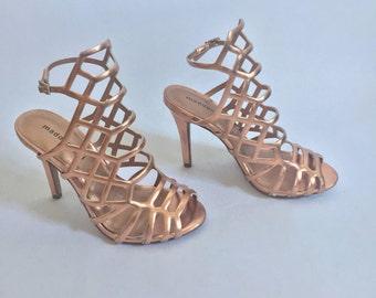 Rose Gold stiletto Heel Madden Girl