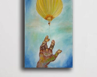 Oil Painting Abstract painting,Modern Painting, balloon painting,