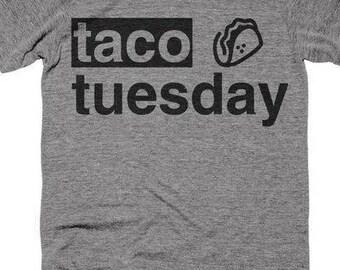 Taco Tuesday burrito ladies t-shirt