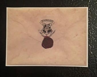 Harry Potter Hogwarts Acceptance Letter Movie Fridge Magnet