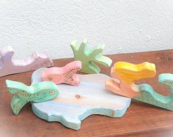 Mermaid Delux Set. Waldorf inspired.