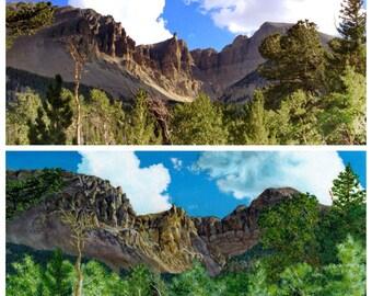 Custom Landscape painting, Custom painting from photo, Landscape painting on canvas, Original acrylic painting, Landscape art gift