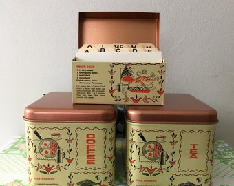 1960's NEW IN BOX Cheinco Pantry Set