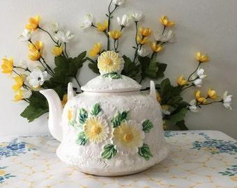1960's Decorative Porcelain Teapot