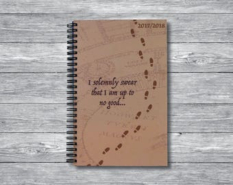 Harry Potter Weekly Planner (Mischief Managed Cover)