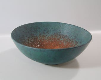 Wonderful bowl dish by Carstens, Fat Lava, West German Pottery, WGP, 217-20? 219-20?