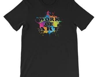 Work Of Art novelty T-Shirt
