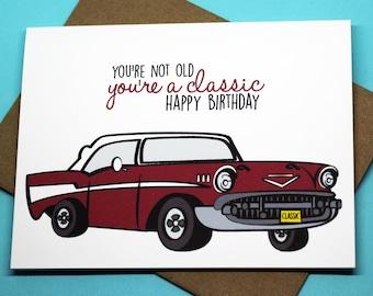 Funny Birthday Car Etsy