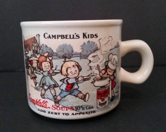 Vintage Campbell's Soup Kids Coffee/Soup Mug