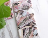 Geometric Pink Marble look iPhone Case 5 5s SE 6 6 plus 6s 6s plus 7 7 plus Phone Cover Stone