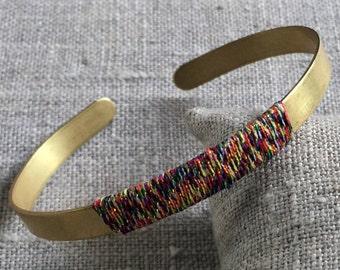 Bohemian Style brass - Bracelet Bangle Janeiro and brass-