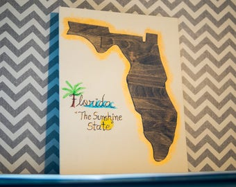 Wooden State Canvas