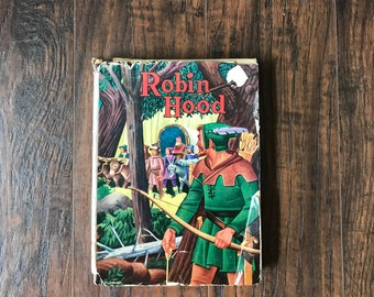 Original Robin Hood Hardcover Book 1940 by Howard Pyle