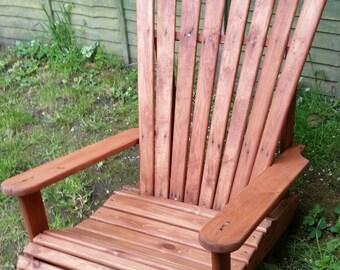 Wooden Garden Chair perfect for summer relaxing.