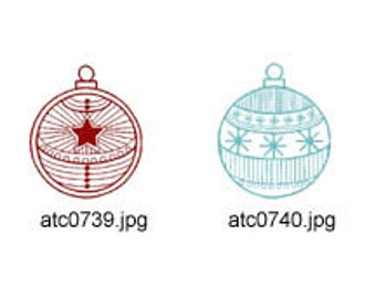 Christmas-Deco-Balls ( 10 Machine Embroidery Designs from ATW ) XYZ17K