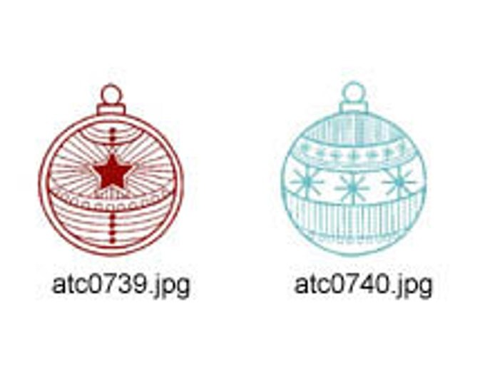Christmas-Deco-Balls ( 10 Machine Embroidery Designs from ATW ) XYZ17K