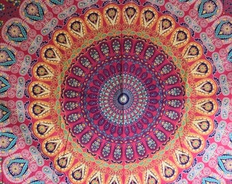 Beautiful Vibrant Tapestry