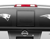 New England Patriots Car Decal Sticker