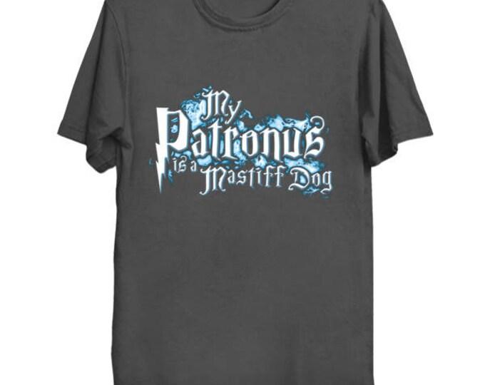 My PATRONUS Is A MASTIFF DOG Custom T-Shirt Magic Animal Charm Fantastic Beasts Wizard Spell Fantasy Shirt