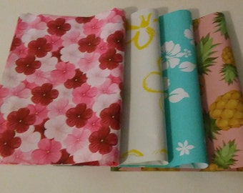20 Poly Mailers 10X13 Assorted Designs Flowers Pineapple Party Shipping Bags Gift Celebrations