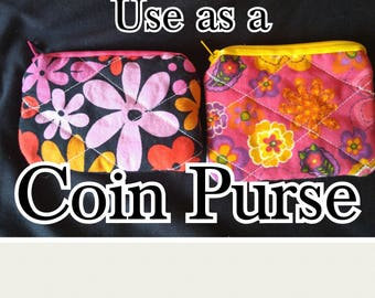 Coin Purse/Multi-Use Pouch