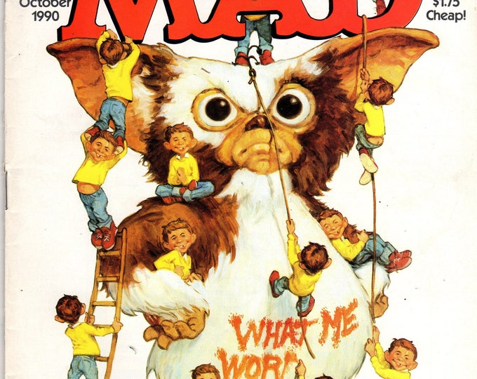 MAD Magazine #298 The Gremlins Movie Parody October 1990 Issue