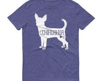 Chihuahua T-shirt, Chihuahua Dog Tee, I Love My Chihuahua