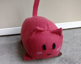 Kitty Plush Square Loaf-Cat